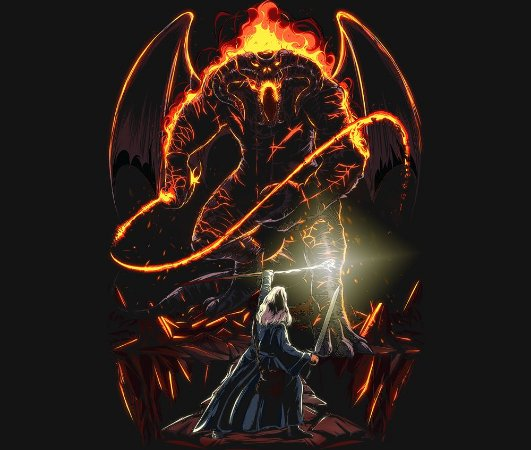 Enjoystick Lord of the Rings - Balrog vs Gandalf