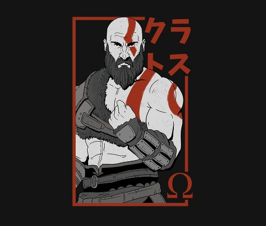 Enjoystick God of War - Kratos
