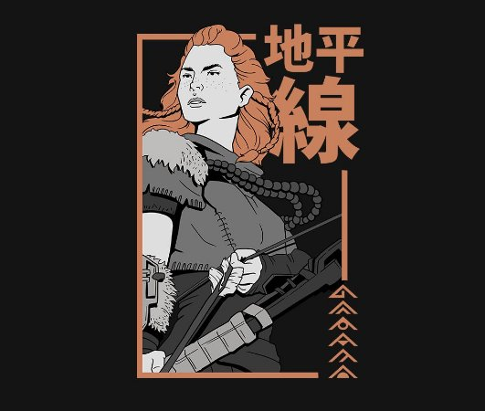 Enjoystick Horizon Zero Dawn - Aloy