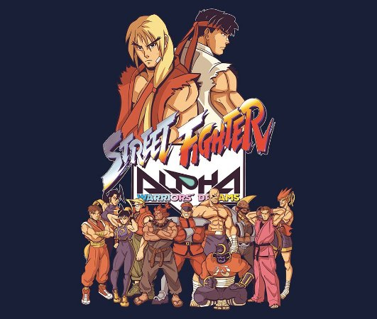 Enjoystick Street Fighter Alpha