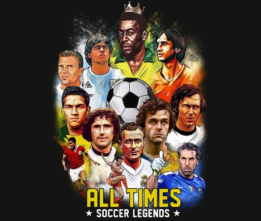 Enjoystick All Times Soccer Legends