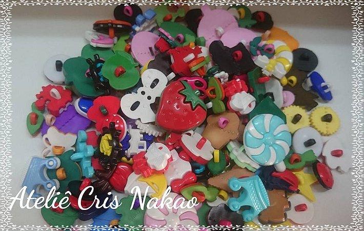 Botões Sortidos Coloridos 50 unidades