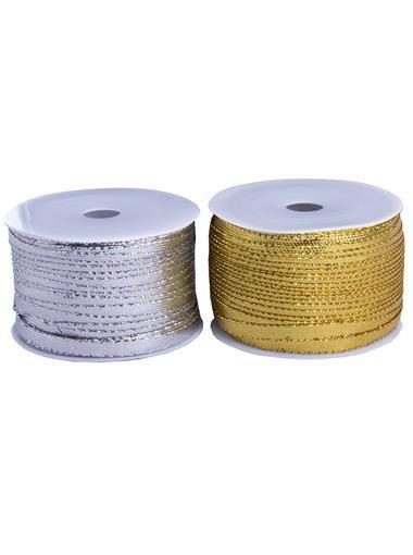 Fita Metalizada 3mm Dourado ou Prata