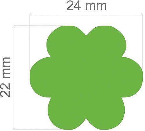 Furador para papel/E.V.A. (jumbo) Flor C/Alavanca 26mm  -  Toke E Crie