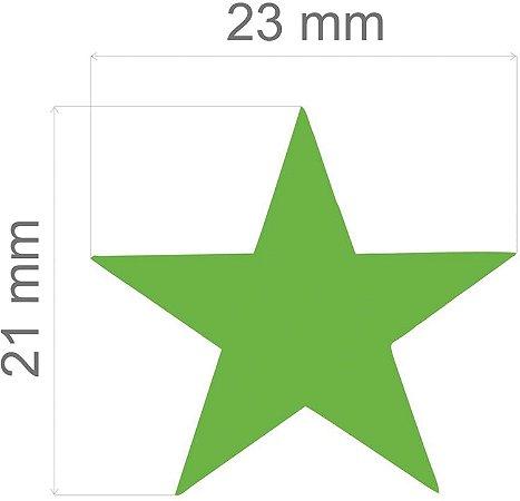 Furador para papel/E.V.A. (jumbo) Estrela C/Alavanca 26mm Toke E Crie