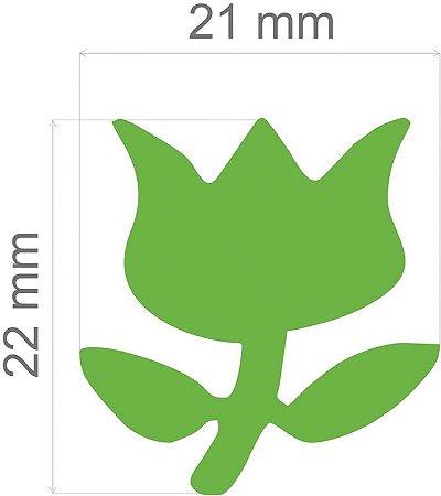 Furador para papel/E.V.A. (jumbo) Tulipa C/Alavanca 26mm Toke E Crie