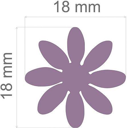 Furador para papel/E.V.A. (regular) Margarida C/Alavanca 16mm Toke E Crie