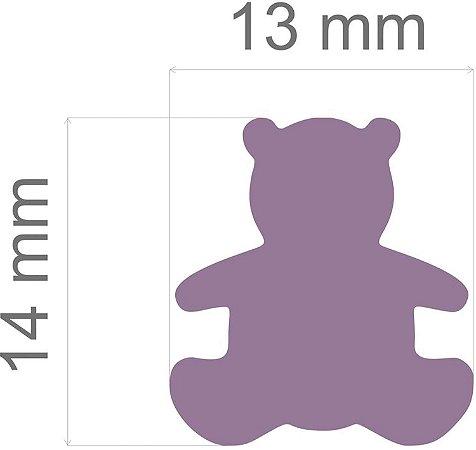 Furador para papel/E.V.A. (regular) Urso C/Alavanca 16mm Toke E Crie