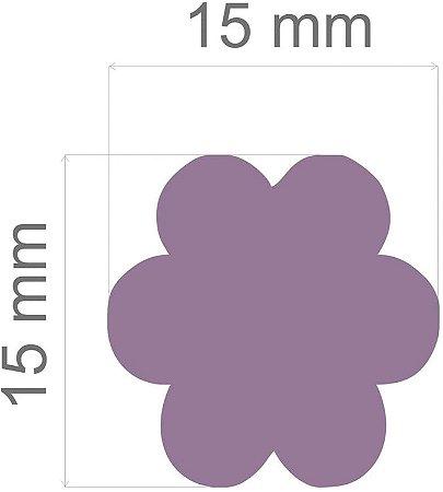 Furador para papel/E.V.A. (regular) Flor C/Alavanca 16mm Toke E Crie