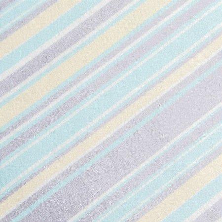 Coleção Baby Color Listras Santa Fé - Azul