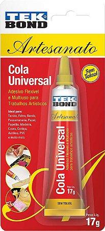 Cola de alta resistencia Universal 17g.  -  Tekbond