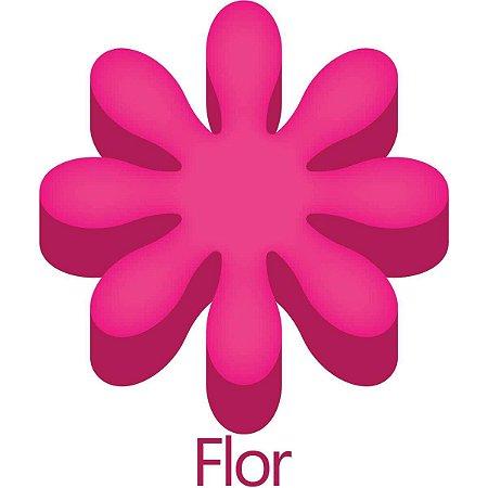 Furador decorado para papel e EVA Gigante Flor 76mm Make+