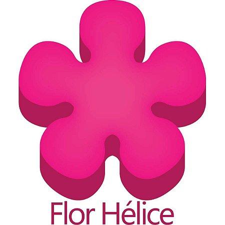 Furador para papel/E.V.A. (regular) Jumbo Flor Helice 25mm Make+