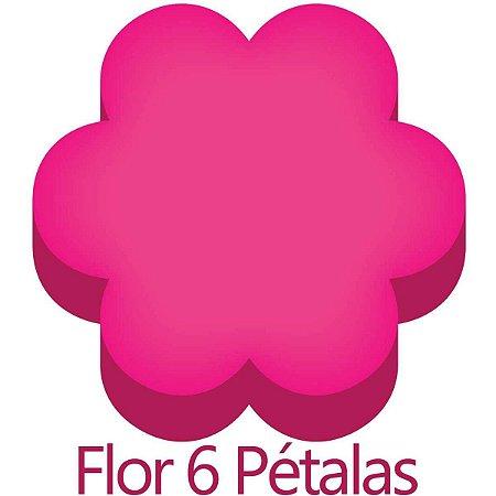 Furador para papel/E.V.A. (regular) Jumbo Flor 6 Petalas 25mm Make+