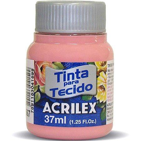 Tinta para tecido fosca (37 ml) Rosa Cha Acrilex