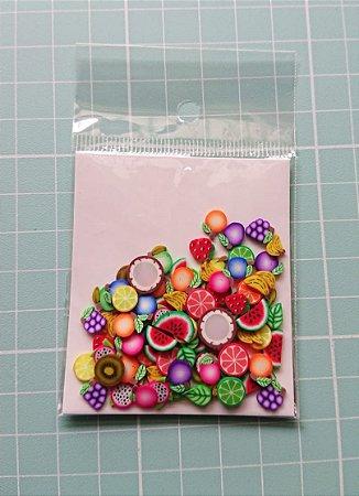 Botões Artesanais Frutinhas Slime