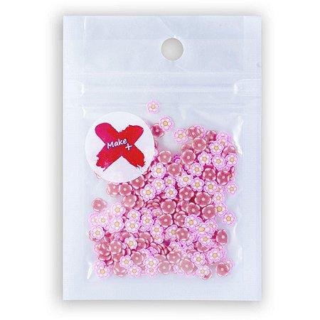 Apliques Charminhos Florzinhas 5g. Slime