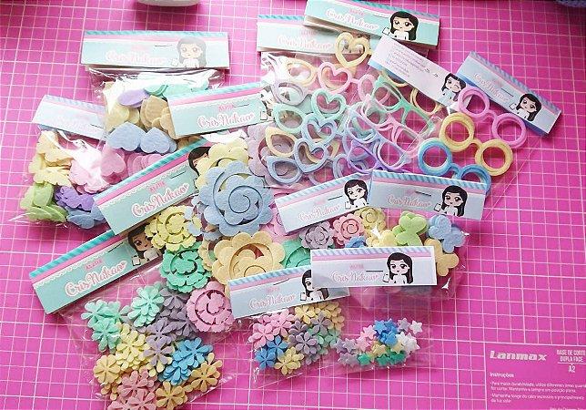 Combo de Recortes Candy Colors 1