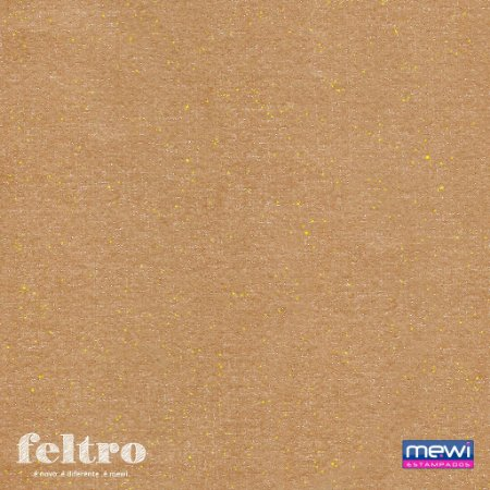 Feltro Glitter Mewi Mel