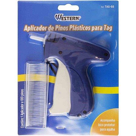 Aplicador para pino plastico Tag Fix P/Pinos Western