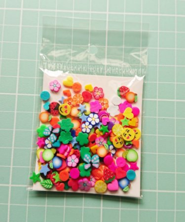 Botões Artesanais Misto Colorido Slime