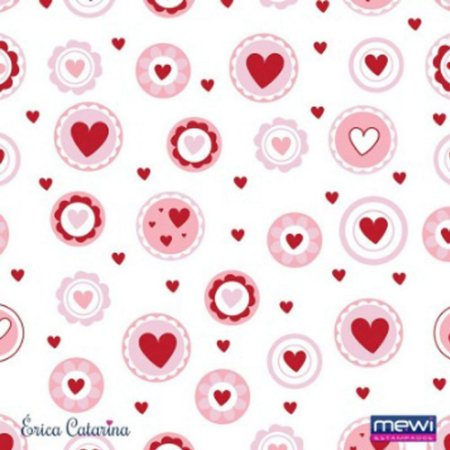 Feltro Estampado Clássicos Lovely Rosa
