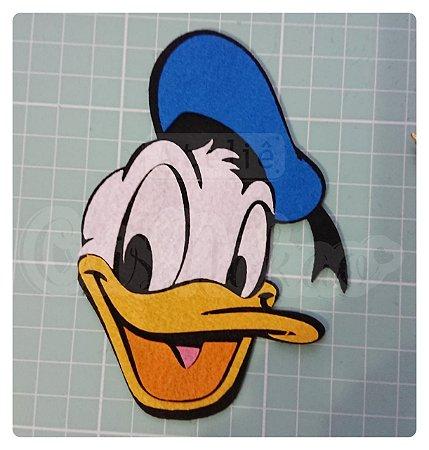Recortes em Feltro Aplique Donald  - 10cm