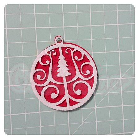 Recortes em Feltro Pingentes de Natal - Árvore 1