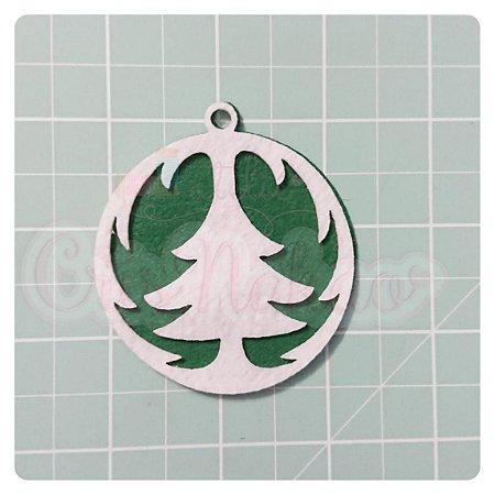 Recortes em Feltro Pingentes de Natal - Árvore 2