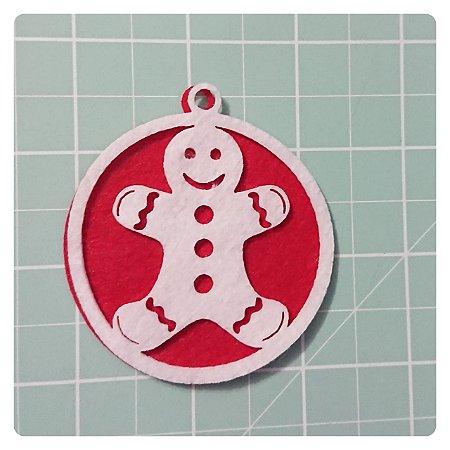 Recortes em Feltro Pingentes de Natal - Ginger 2