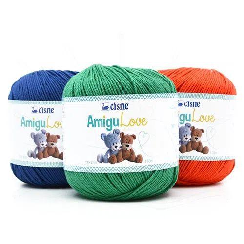Linha para crochê Amigulove 100g Coats Corrente