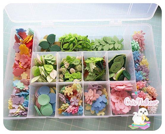 Caixa Organizadora com Recortes (Leia a Descrição)