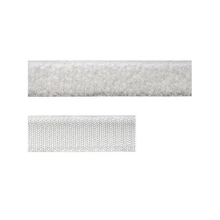 Fecho Contato Aquarela 16mm Branco (Velcro) - metro