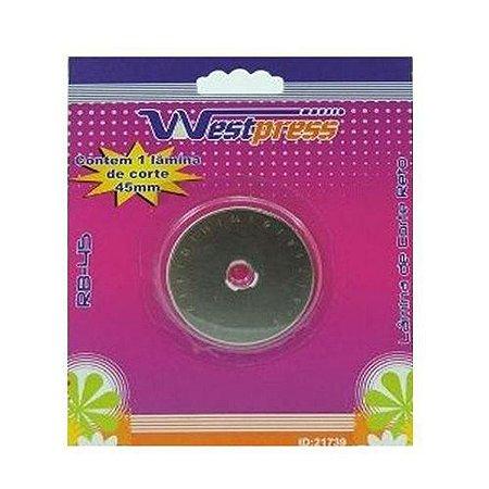 Lâmina Refil Para Cortador Circular Westpress 45mm