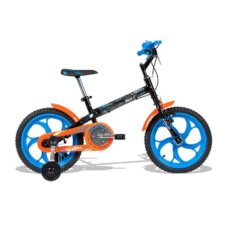 "Bicicleta Hot Wheels Aro 16"" Caloi - 450040.19000"