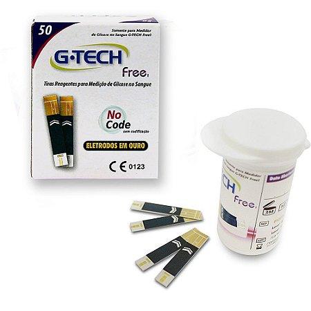 Tiras Reagentes para Medição de Glicose - G-Tech