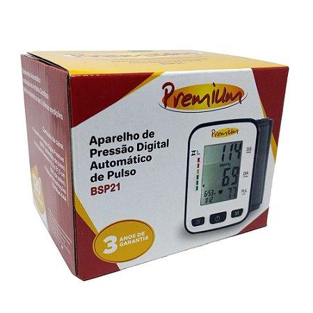 Aparelho de Pressão Digital Pulso Premium LP200