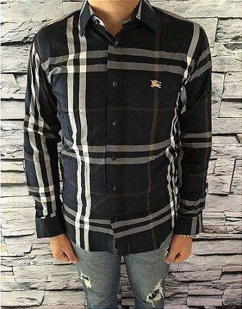 74e61ec2e7b67 Camisa Burberry Masculina Replica