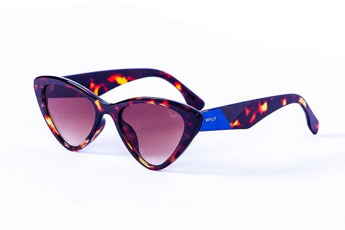 Óculos Acetato Feminino - 8787 Vintage Estampado