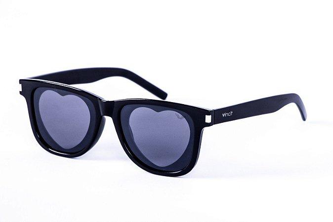 Óculos Acetato Feminino - 0187 Black