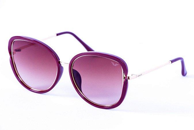 Óculos Metal Feminino - 18701