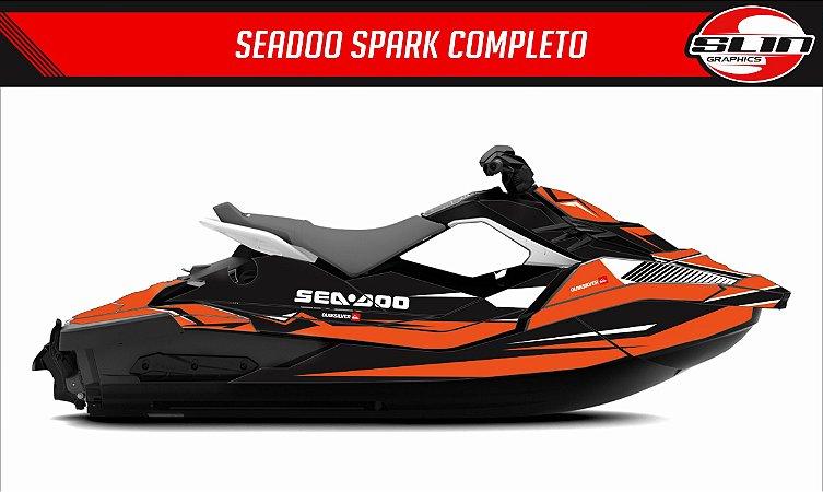 Adesivo Jet Ski Seadoo Spark - Laranja