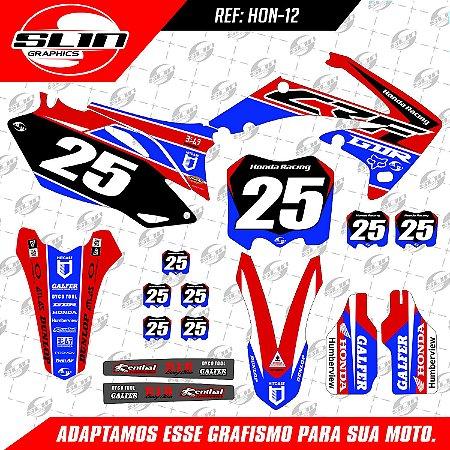 Adesivo Crf 250/450 Galfer Racing