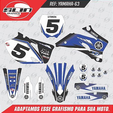 Adesivo Yamaha YZF 250/450 - Brigestone