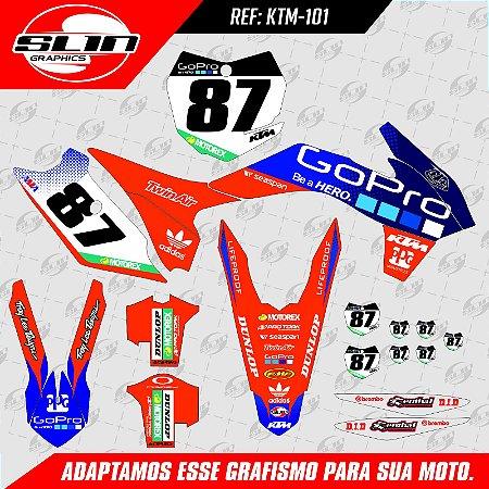 Adesivo Ktm Racing GO PRO