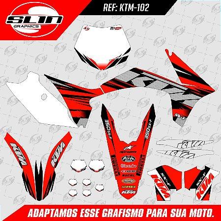Adesivo Ktm 250/350/450 SX - Factory Racing