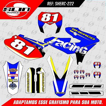 Adesivo Sherco Factory Racing #02