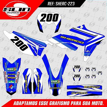 Adesivo Sherco Factory Racing #03