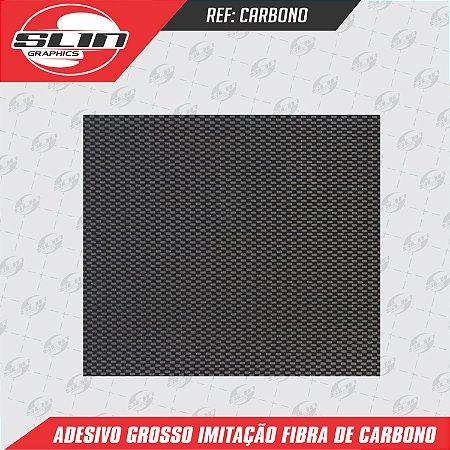 Adesivo Imitação Fibra de Carbono