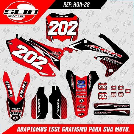 Adesivo Honda Racing Line